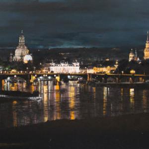 Bild Dresden bei Nacht